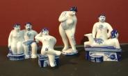 В бане гжель миниатюры